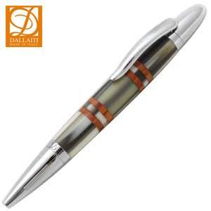 高級 ボールペン ダライッティ(DALLAITI) ショートタイプ マーブルベージュ ボールペン AKR57E|nomado1230