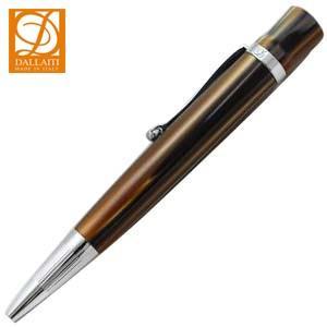高級 ボールペン 名入れ ダライッティ(DALLAITI) マーブル ブラウン ボールペン AKR62|nomado1230