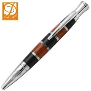 高級 ボールペン ダライッティ(DALLAITI) スパイラル ウッドブラック ボールペン AKR63 nomado1230