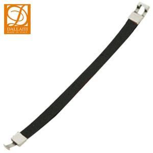 ブレスレット 革 ダライッティ(DALLAITI) ブレスレット カラーレザー Lサイズ ブラック BC35|nomado1230