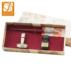 つけペン セット ダライッティ(DALLAITI) つけペン ペン立てセット BX51|nomado1230