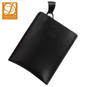 カードケース メンズ 名入れ ダライッティ(DALLAITI) 本皮製 カードケース 黒 PE32|nomado1230