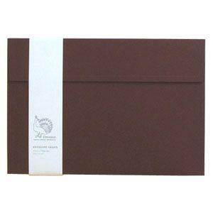 封筒 ドレスコ(Dressco) GRAND ビオトープ 封筒 5セット ワインレッド No. 512392|nomado1230
