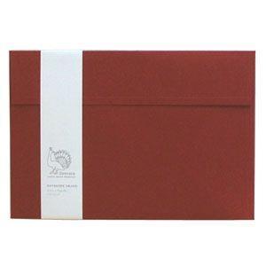封筒 ドレスコ(Dressco) GRAND ビオトープ 封筒 5セット ベリーレッド No. 512400|nomado1230