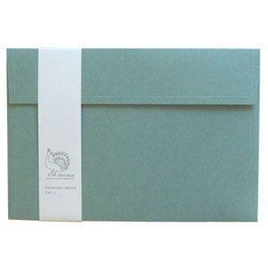 封筒 ドレスコ(Dressco) GRAND 里紙 封筒 5セット 水 No. 512426|nomado1230