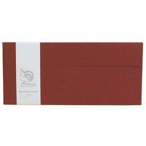 封筒 ドレスコ(Dressco) LONG ビオトープ 封筒 5セット ベリーレッド No. 512442|nomado1230