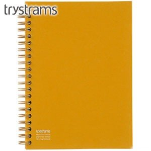 ノート A5 トライストラムス(trystrams) Smooth ツインリングノート FREENOTE A5 こがね THF-KR01Y|nomado1230