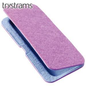 ペンケース トライストラムス(trystrams) Smooth ペンケース SEAMLESS ピンク THF-MC01P|nomado1230