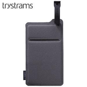 ポーチ トライストラムス(trystrams) Smooth SPREAD ポケッタブルポーチ グレー THF-MC02M|nomado1230