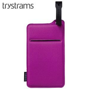 ポーチ トライストラムス(trystrams) Smooth SPREAD ポケッタブルポーチ ピンク THF-MC02P|nomado1230