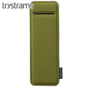 ペンケース トライストラムス(trystrams) Smooth SPREAD ペンボード カーキ THF-MC03G|nomado1230