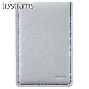 カードケース トライストラムス(trystrams) カードケース シルバー×パープル THF-MG07CV|nomado1230