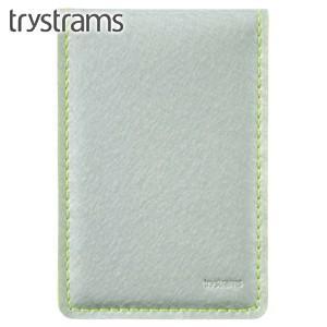 カードケース トライストラムス(trystrams) カードケース シルバー×イエロー THF-MG07CY|nomado1230