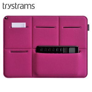 インナーバッグ A4 トライストラムス(trystrams) Smooth SPREAD A4用サイズ キャリングケース ピンク THF-MM01P|nomado1230
