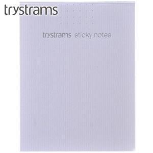 ノート トライストラムス(trystrams) Active スティッキーノート KNOWLEDGE STOCK カットオフ ドット 40枚×2 5個セット ホワイト THM-KM04|nomado1230