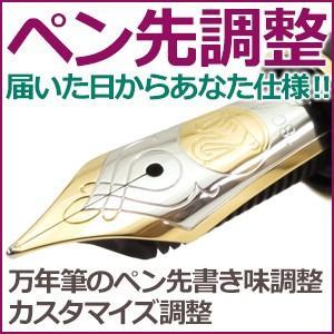 ノマド1230 万年筆のペン先書き味調整 カスタマイズ調整 PENTYOUSE|nomado1230