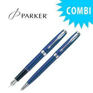 パーカー スペシャルコンビセット ソネット オリジナル 万年筆&ボールペン ブルーCT S11130132COMBISET|nomado1230