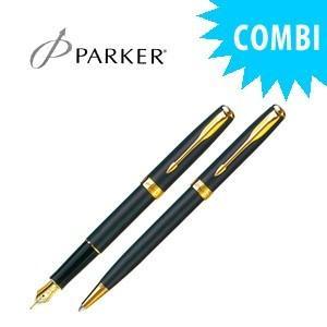 パーカー スペシャルコンビセット ソネット オリジナル 万年筆&ボールペン マットブラックGT S11130144COMBISET|nomado1230