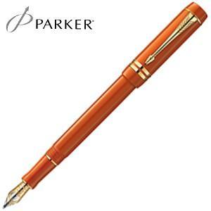 万年筆 名入れ パーカー デュオフォールド ヒストリカルカラー センテニアル 万年筆 ビッグレッドGT No. 1907188|nomado1230