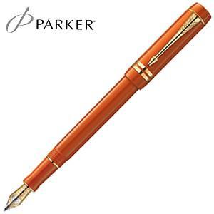 万年筆 名入れ パーカー デュオフォールド ヒストリカルカラー インターナショナル 万年筆 ビッグレッドGT No. 1907190|nomado1230