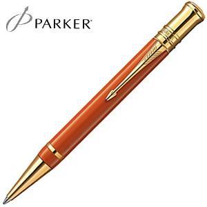 高級 ボールペン 名入れ パーカー デュオフォールド ヒストリカルカラー ボールペン ビッグレッドGT No. 1907192|nomado1230
