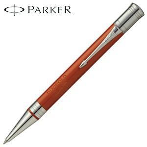 高級 ボールペン 名入れ パーカー デュオフォールド クラシック ボールペン ビッグレッドCT No. 1931379|nomado1230