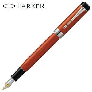 パーカー デュオフォールド クラシック センテニアル 万年筆 ビッグレッドCT 193137-|nomado1230