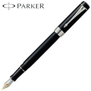 パーカー デュオフォールド クラシック インターナショナル 万年筆 ブラックCT 193138-|nomado1230