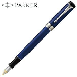 パーカー デュオフォールド クラシック インターナショナル 万年筆 ブルー&ブラックCT 194798-|nomado1230