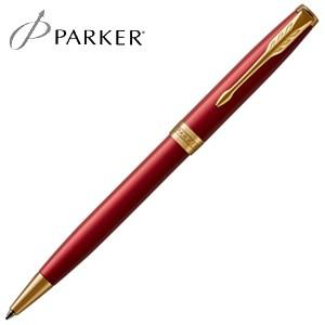 高級 ボールペン 名入れ パーカー ソネット ボールペン レッドGT No. 1950777|nomado1230