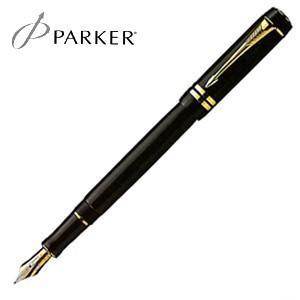 万年筆 名入れ パーカー デュオフォールド インターナショナル 万年筆 ブラックGT S1110142|nomado1230