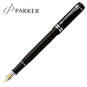 万年筆 名入れ パーカー デュオフォールド インターナショナル 万年筆 ブラックPT S1110153|nomado1230