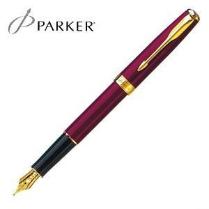 パーカー ソネット オリジナル 万年筆 レッドGT S11130122|nomado1230