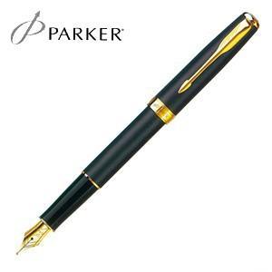パーカー ソネット オリジナル 万年筆 マットブラックGT S11130142|nomado1230