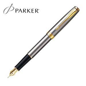 パーカー ソネット オリジナル 万年筆 (ステンレススチールGT) S11130163|nomado1230