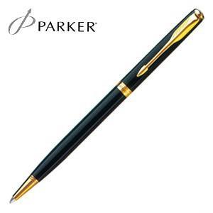 パーカー ソネット オリジナル スリム ボールペン ラックブラックGT S11130302S|nomado1230