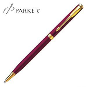 パーカー ソネット オリジナル スリム ボールペン レッドGT S11130322S|nomado1230