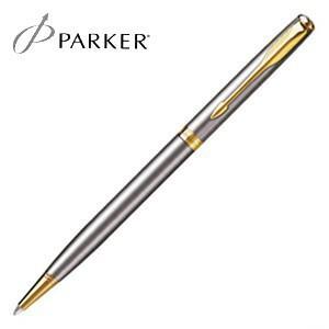 パーカー ソネット オリジナル スリム ボールペン (ステンレススチールGT) S11130362|nomado1230