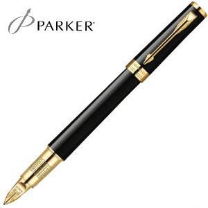 水性ペン 名入れ パーカー インジェニュイティ 5th 水性ペン ブラックGT No. 1201712|nomado1230