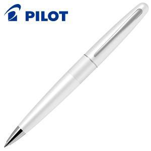 高級 ボールペン 名入れ パイロット コクーン 油性ボールペン ホワイト BCO-150R-W|nomado1230