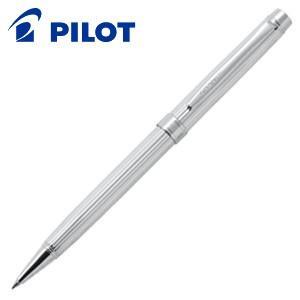 高級 ボールペン パイロット グランセNC スターリングシルバー 油性 ボールペン ストライプ BGNC-2MS-S|nomado1230