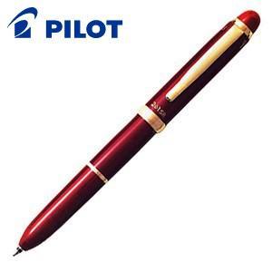 高級 マルチペン 名入れ パイロット ツープラスワン SR マルチペン ディープレッド BKH-3SR-DR|nomado1230