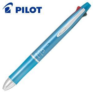 高級 マルチペン 名入れ パイロット ドクターグリップ4+1 0.5ミリ 多機能ペン アイスブルー BKHDF1SEF-IL|nomado1230