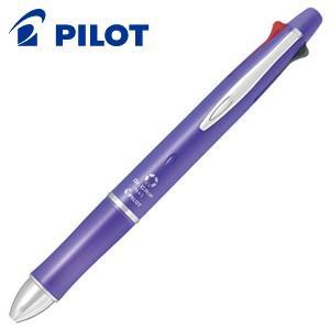 高級 マルチペン 名入れ パイロット ドクターグリップ4+1 0.5ミリ 多機能ペン ラベンダー BKHDF1SEF-LA|nomado1230
