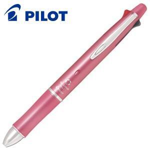 高級 マルチペン 名入れ パイロット ドクターグリップ4+1 0.5ミリ 多機能ペン シェルピンク BKHDF1SEF-SP|nomado1230