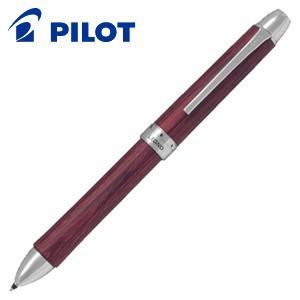 高級 マルチペン 名入れ パイロット レグノ 3色油性ボールペン ディープレッド BKTL-3SK-DR|nomado1230