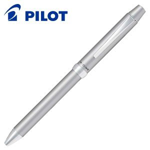 高級 マルチペン 名入れ パイロット リッジ 4色油性ボールペン シルバー BKTR-5SR-S|nomado1230