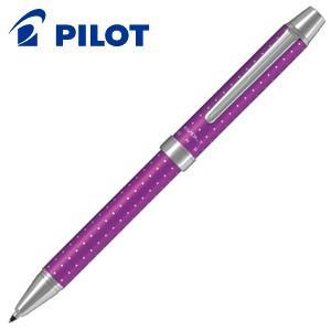 高級 マルチペン 名入れ パイロット ツープラスワン エボルト 多機能ペン ドットバイオレット BTHE-150R-DV nomado1230