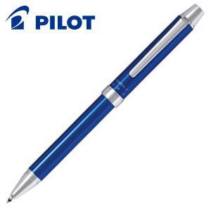高級 マルチペン 名入れ パイロット ツープラスワン エボルト 多機能筆記具 細字0.7ミリボール黒・赤+0.5ミリシャープ ブルー BTHE-1SR-L|nomado1230