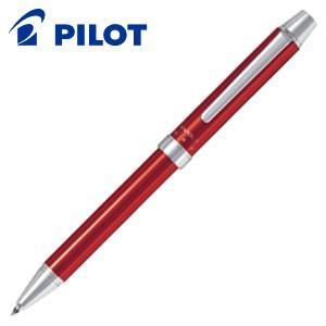 高級 マルチペン 名入れ パイロット ツープラスワン エボルト 多機能筆記具 細字0.7ミリボール黒・赤+0.5ミリシャープ レッド BTHE-1SR-R|nomado1230